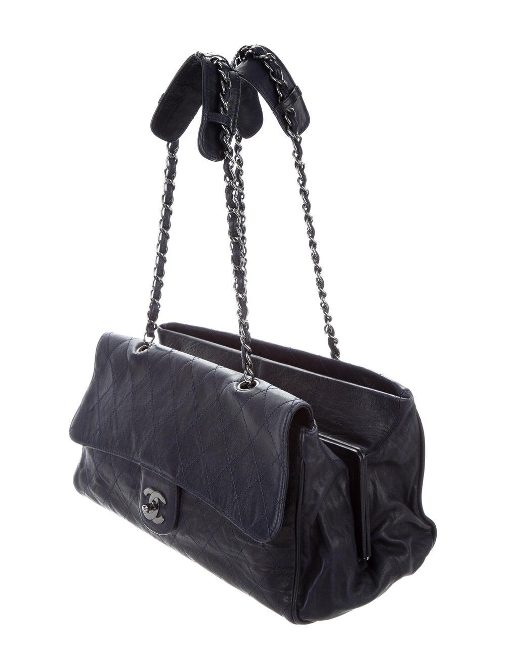 Chanel Ritz Flap Bag Blue - image 3