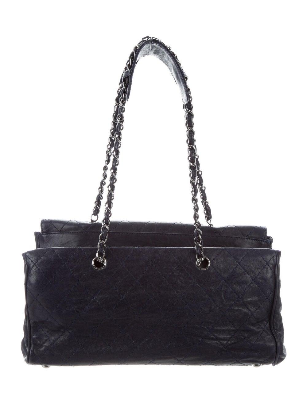 Chanel Ritz Flap Bag Blue - image 4