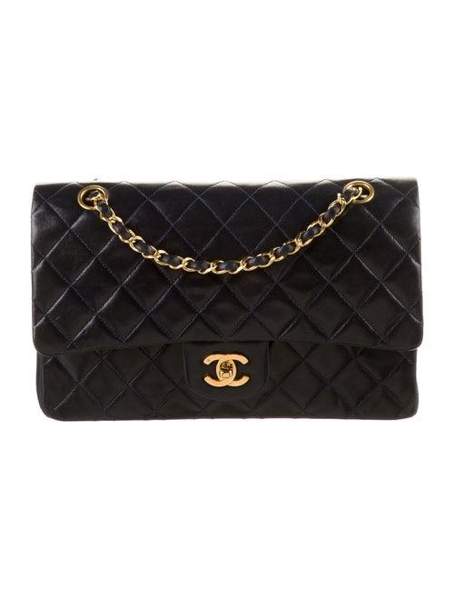Chanel Classic Medium Double Flap Bag Blue - image 1
