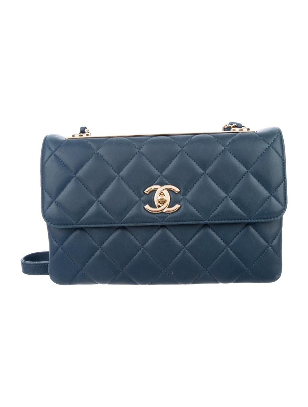 Chanel Trendy CC Flap Bag Blue - image 1