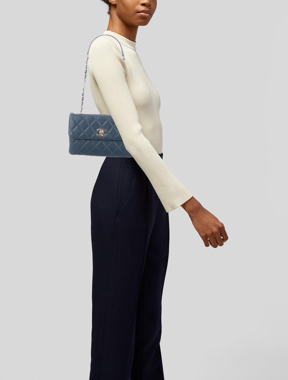 Chanel Trendy CC Flap Bag Blue - image 2