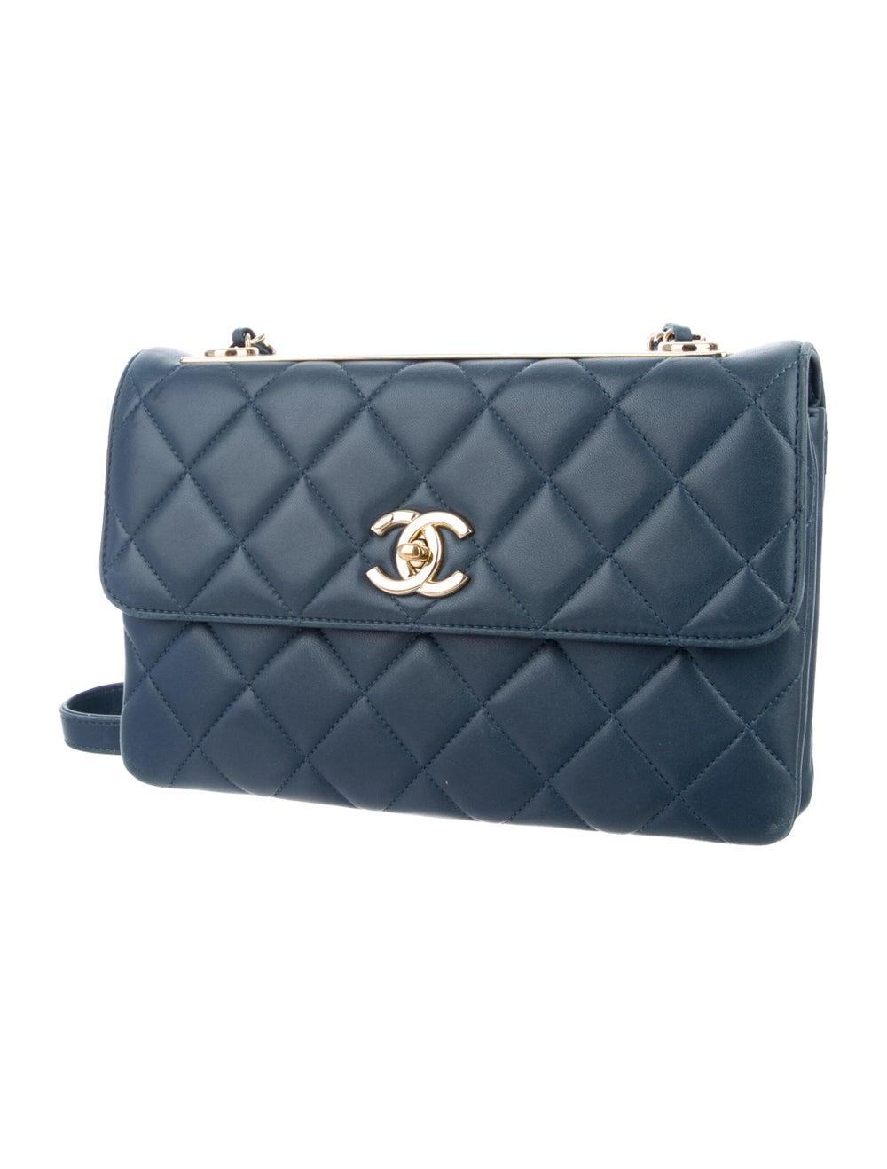 Chanel Trendy CC Flap Bag Blue - image 3