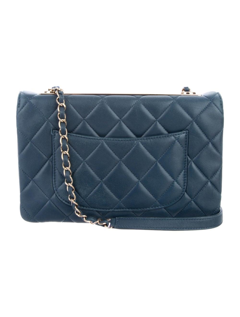 Chanel Trendy CC Flap Bag Blue - image 4