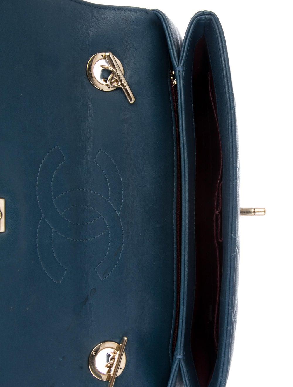Chanel Trendy CC Flap Bag Blue - image 5