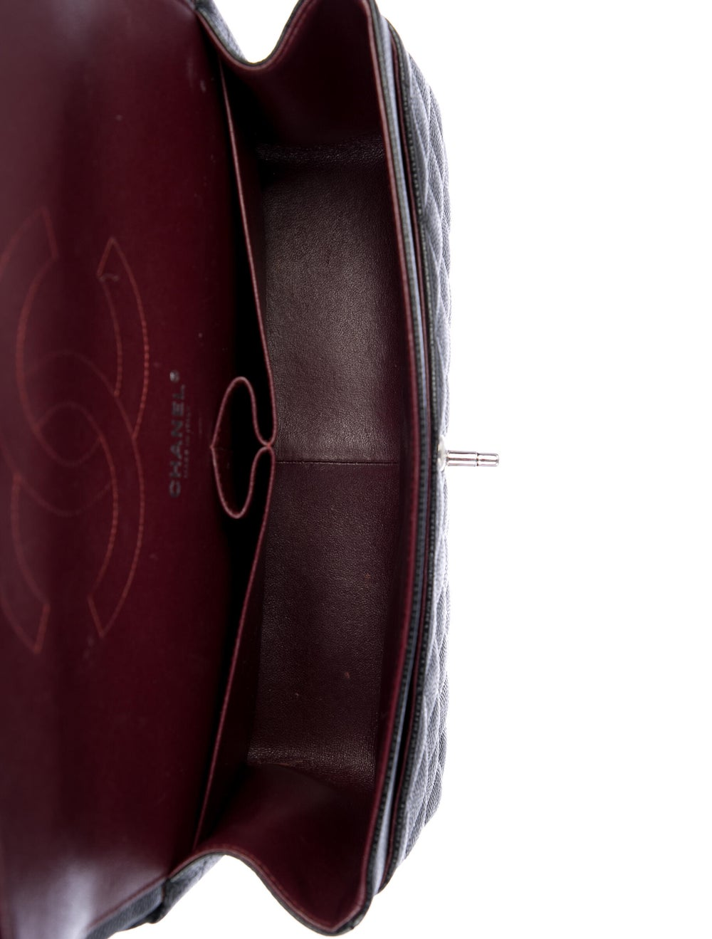 Chanel 2019 Classic Jumbo Double Flap Bag Black - image 5