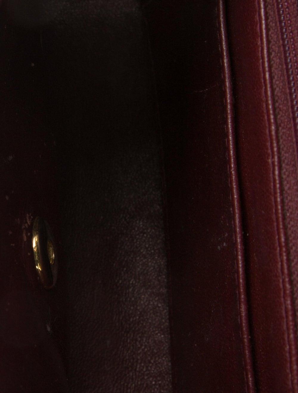 Chanel Vintage Mini Square Flap Bag Blue - image 5
