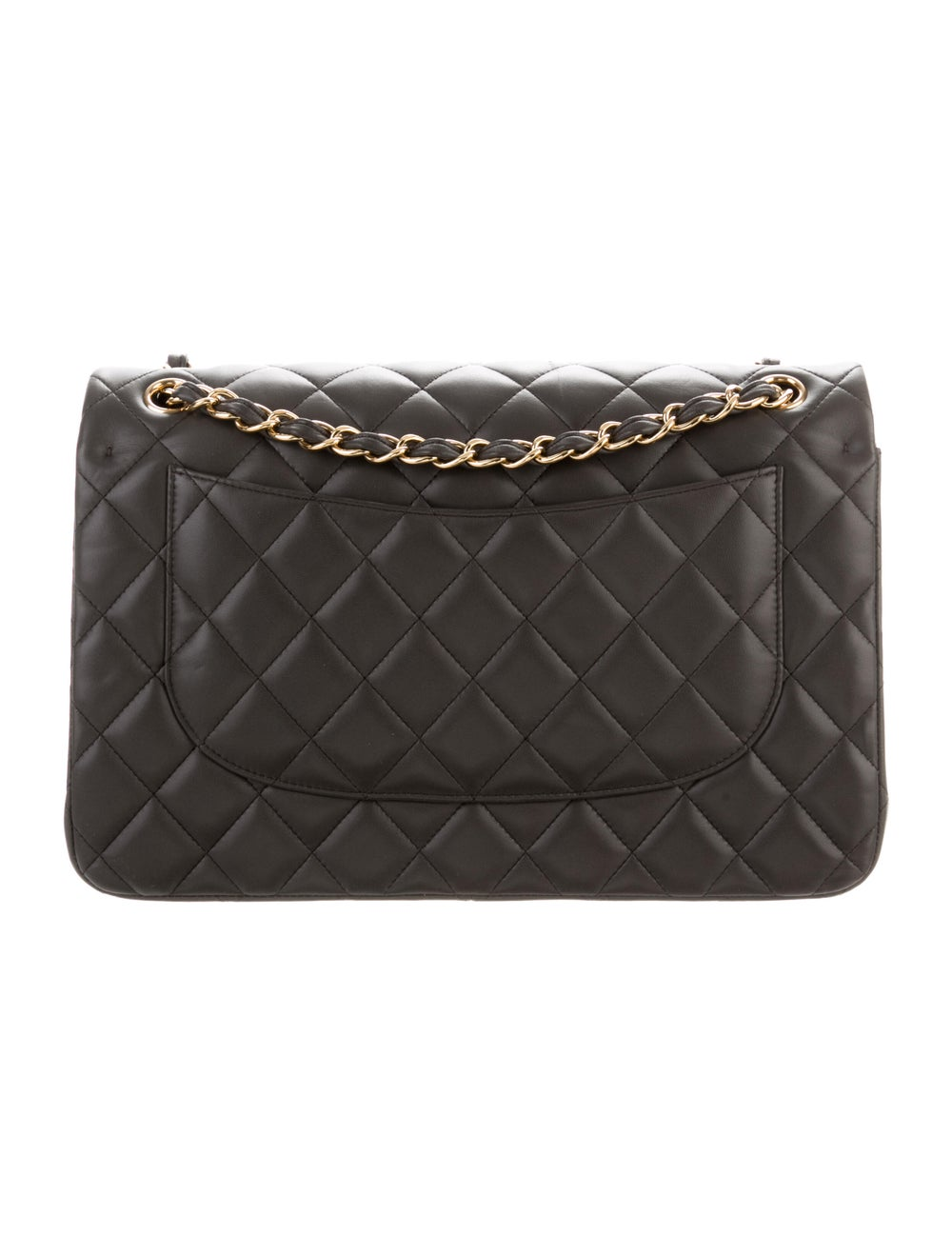 Chanel Classic Jumbo Double Flap Bag Grey - image 4