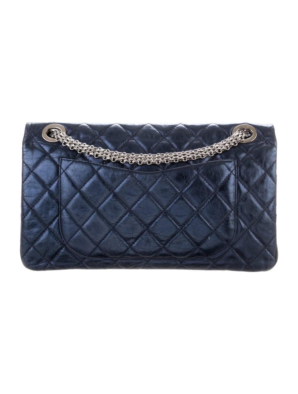 Chanel Reissue 2.55 Classic 227 Flap Bag Blue - image 4