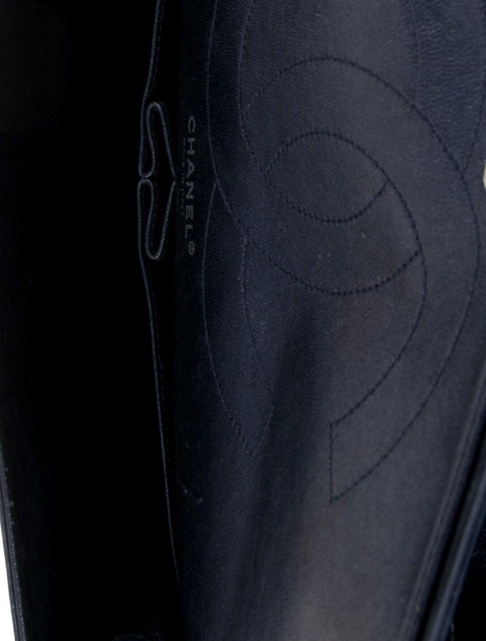 Chanel Reissue 2.55 Classic 227 Flap Bag Blue - image 5