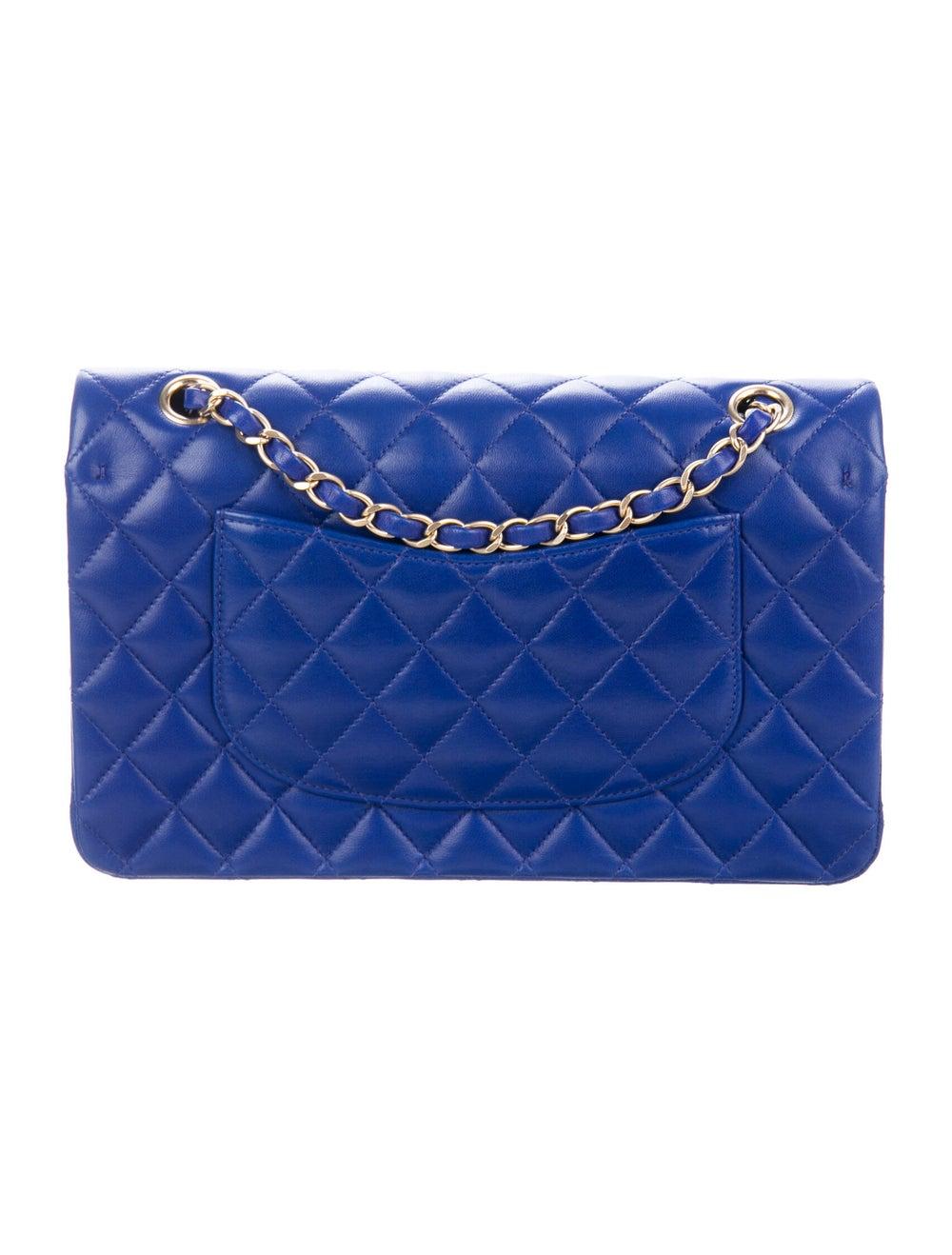 Chanel Medium Classic Double Flap Bag Blue - image 4