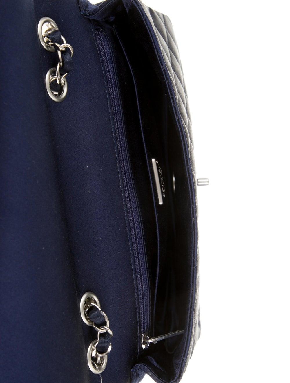 Chanel Satin LED Flap Bag Blue - image 5