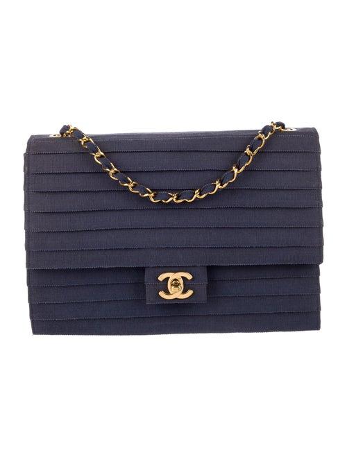 Chanel Paneled Flap Bag Blue - image 1