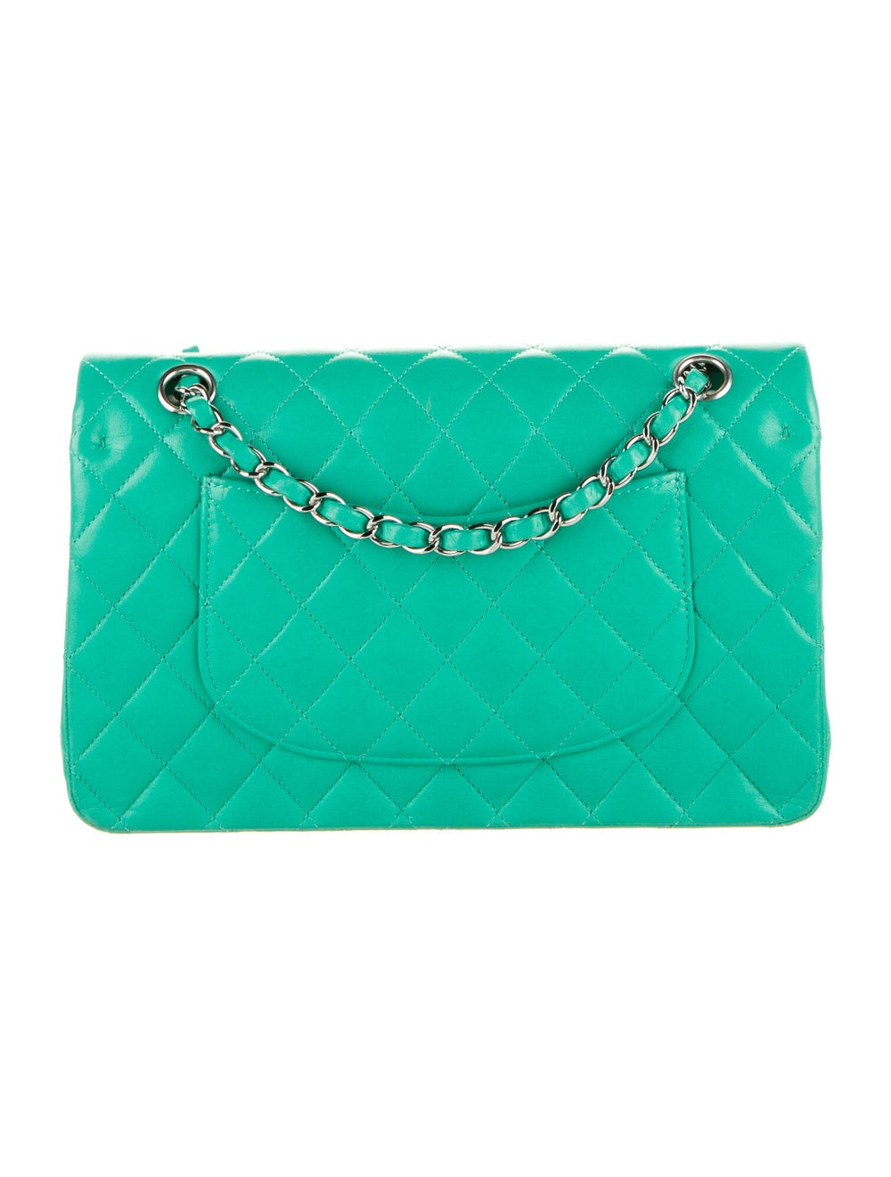 Chanel Classic Medium Double Flap Bag Blue - image 4