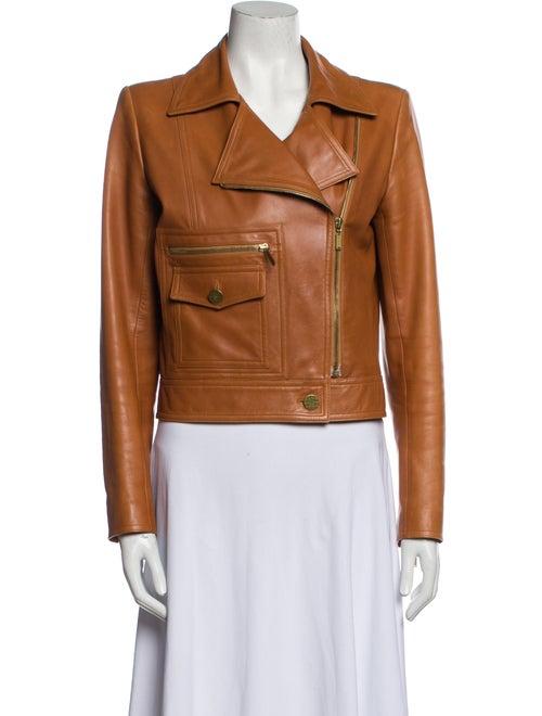 Chanel Vintage 2001 Biker Jacket Brown