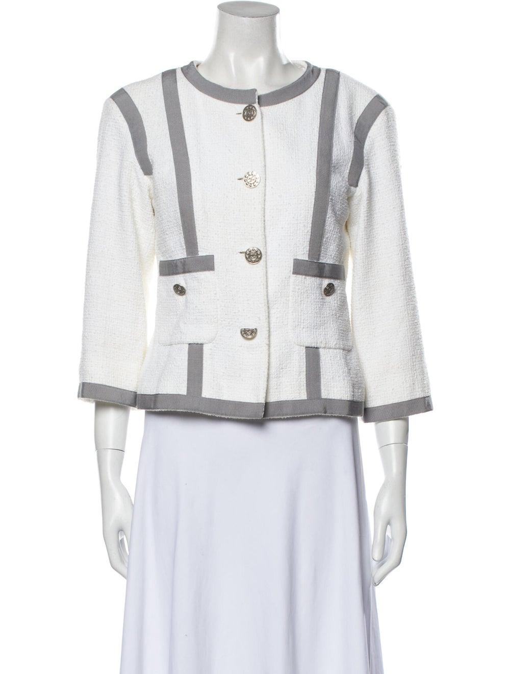 Chanel 2013 Striped Jacket - image 1