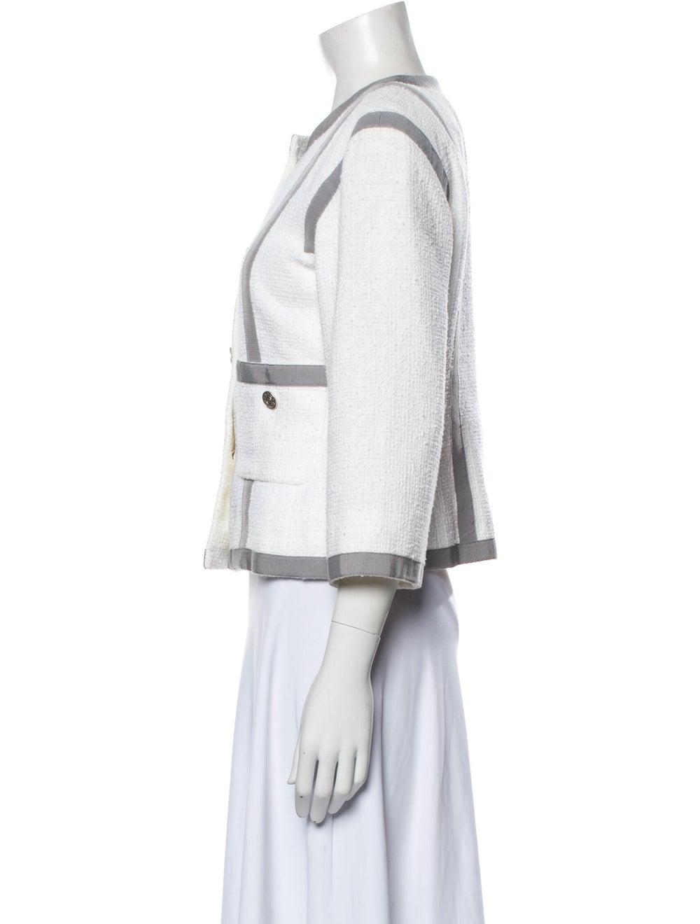 Chanel 2013 Striped Jacket - image 2