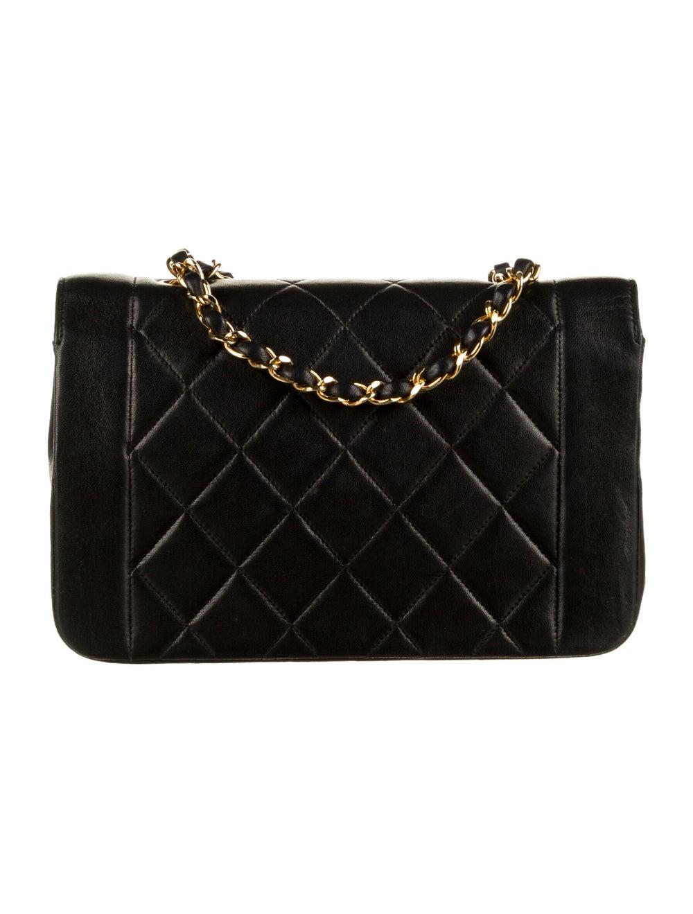 Chanel Vintage Diana Flap Bag Black - image 4