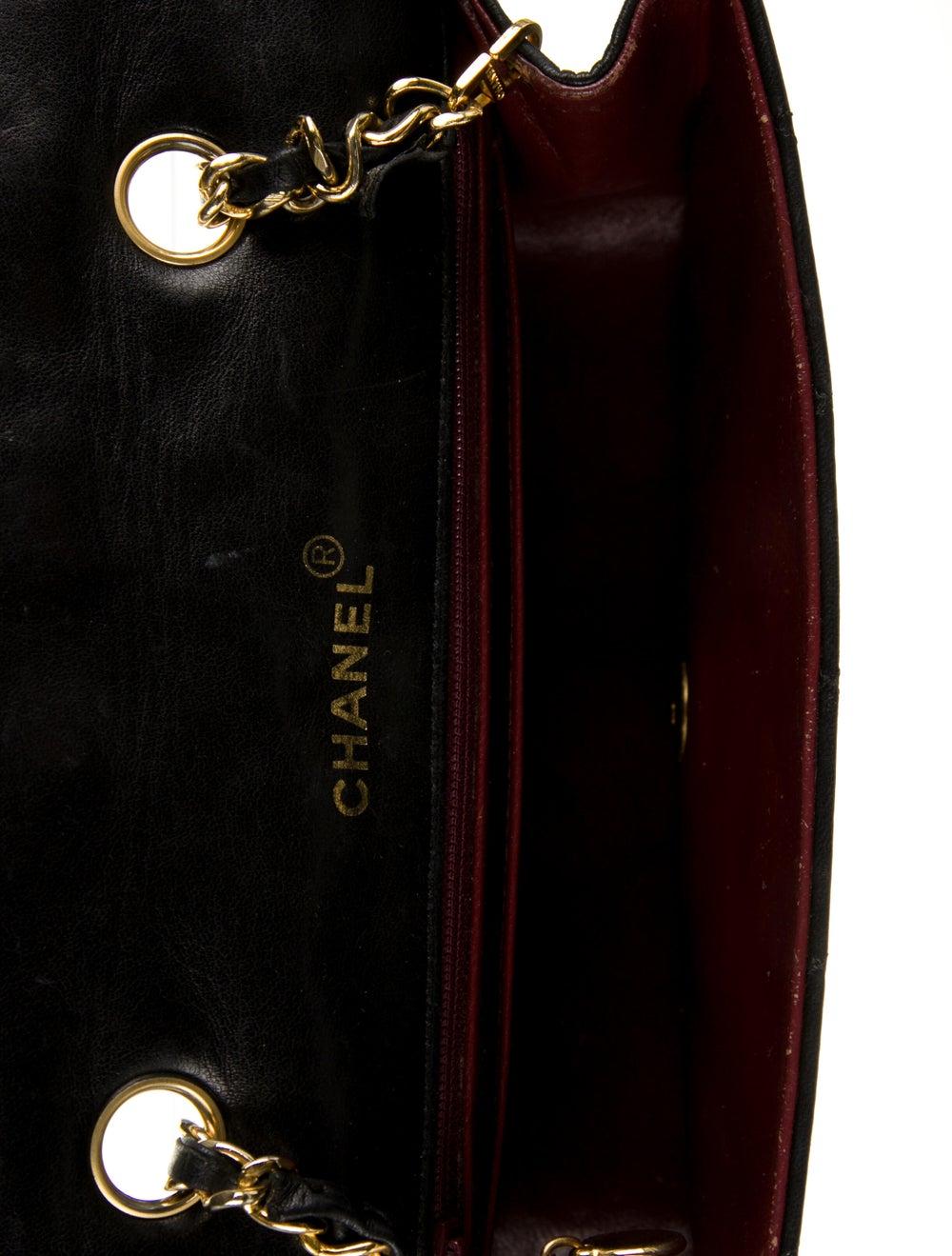 Chanel Vintage Diana Flap Bag Black - image 5