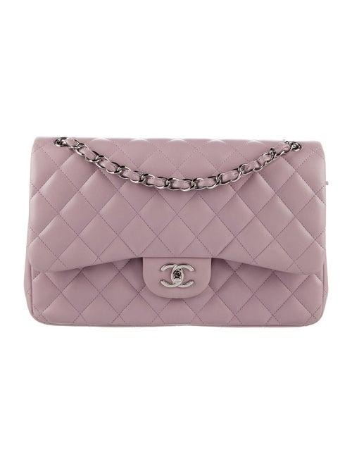 Chanel Classic Jumbo Double Flap Bag Purple - image 1