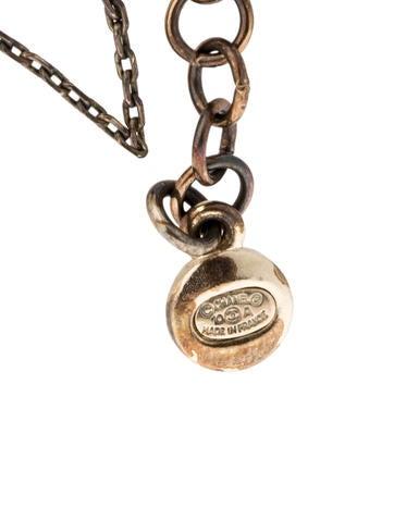 Paris-Shanghai Tassel Pendant Necklace