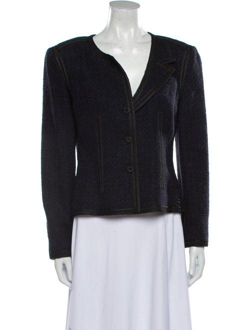 Chanel Vintage 2002 Evening Jacket Blue