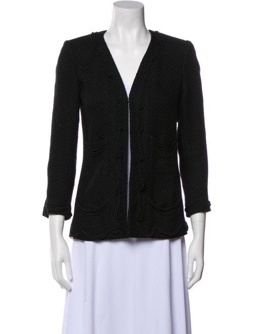 Chanel Vintage 2003 Evening Jacket Black - image 1