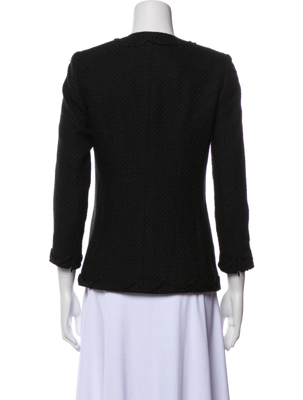 Chanel Vintage 2003 Evening Jacket Black - image 3