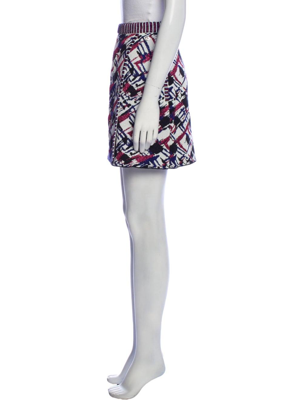 Chanel 2016 Mini Skirt Blue - image 2