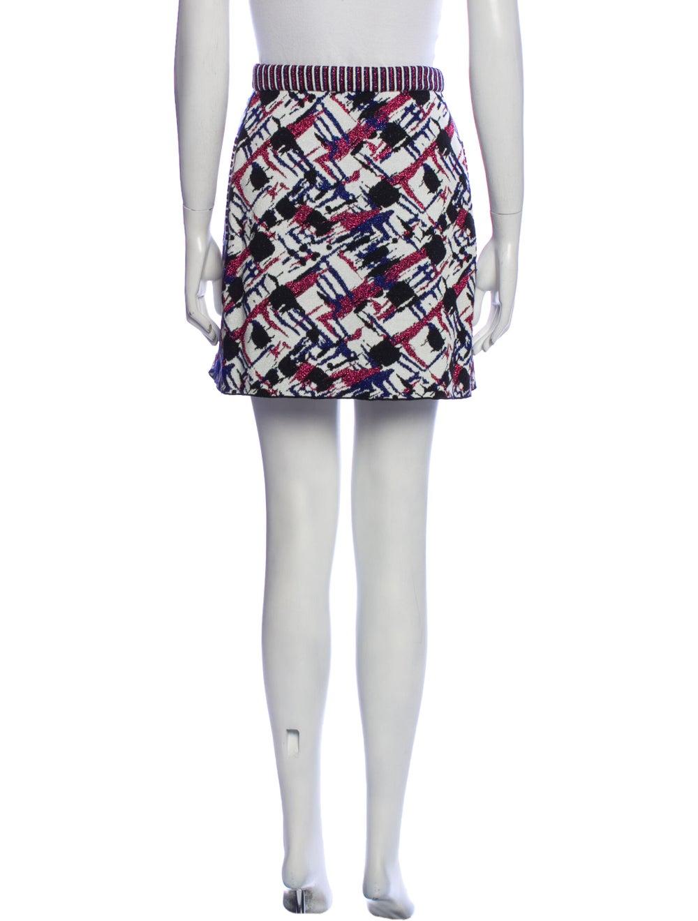 Chanel 2016 Mini Skirt Blue - image 3