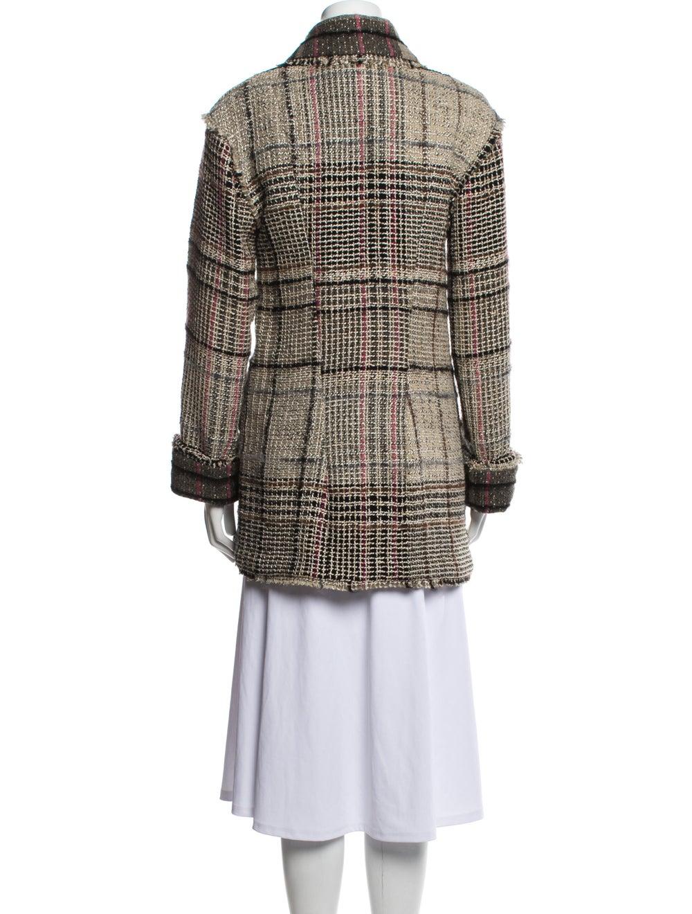 Chanel Vintage 2005 Faux Fur Jacket - image 3