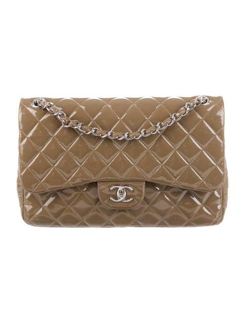 Chanel Classic Jumbo Double Flap Bag Brown - image 1