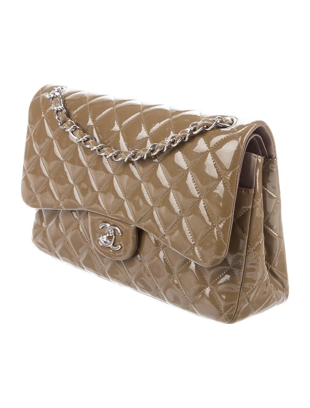 Chanel Classic Jumbo Double Flap Bag Brown - image 3