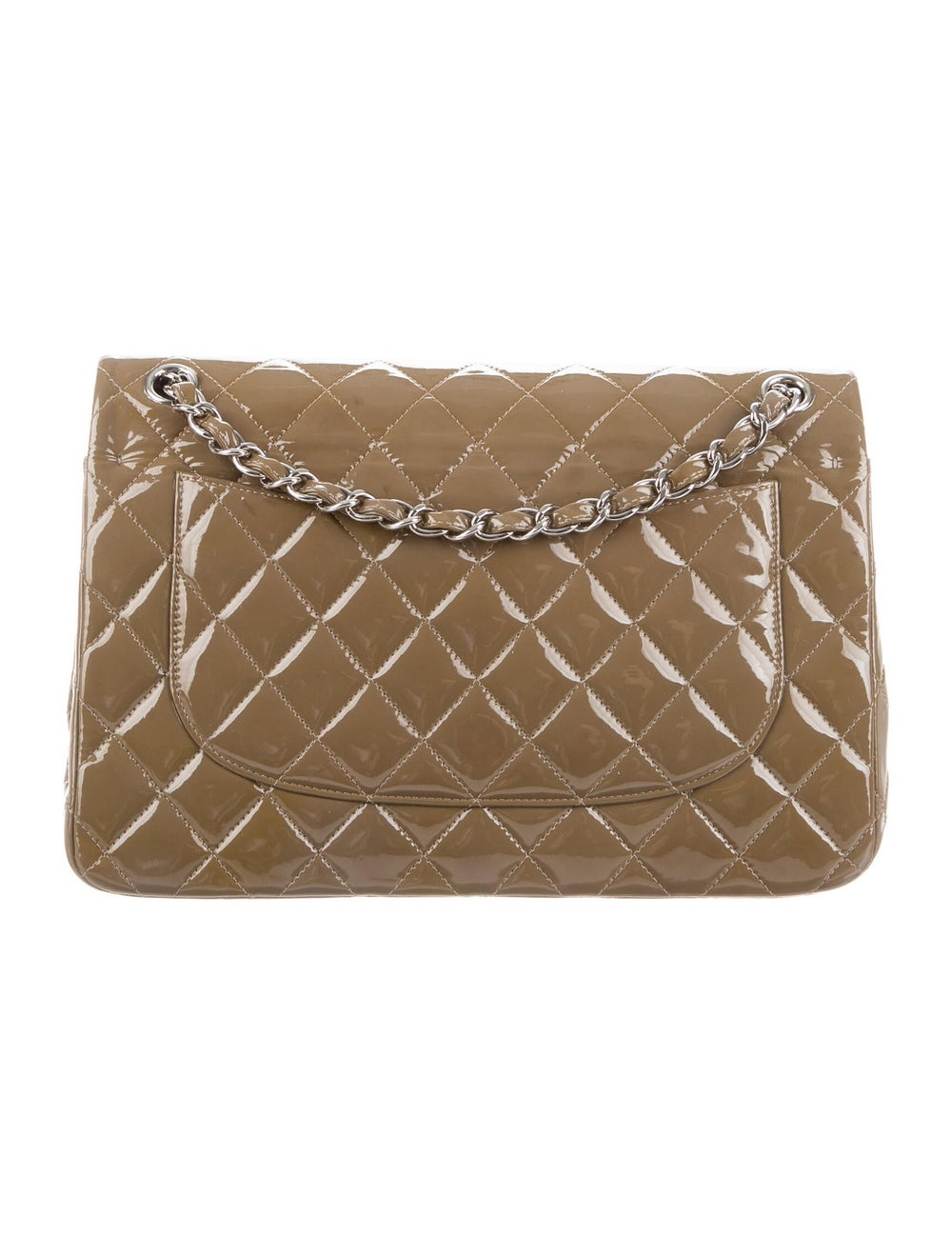 Chanel Classic Jumbo Double Flap Bag Brown - image 4