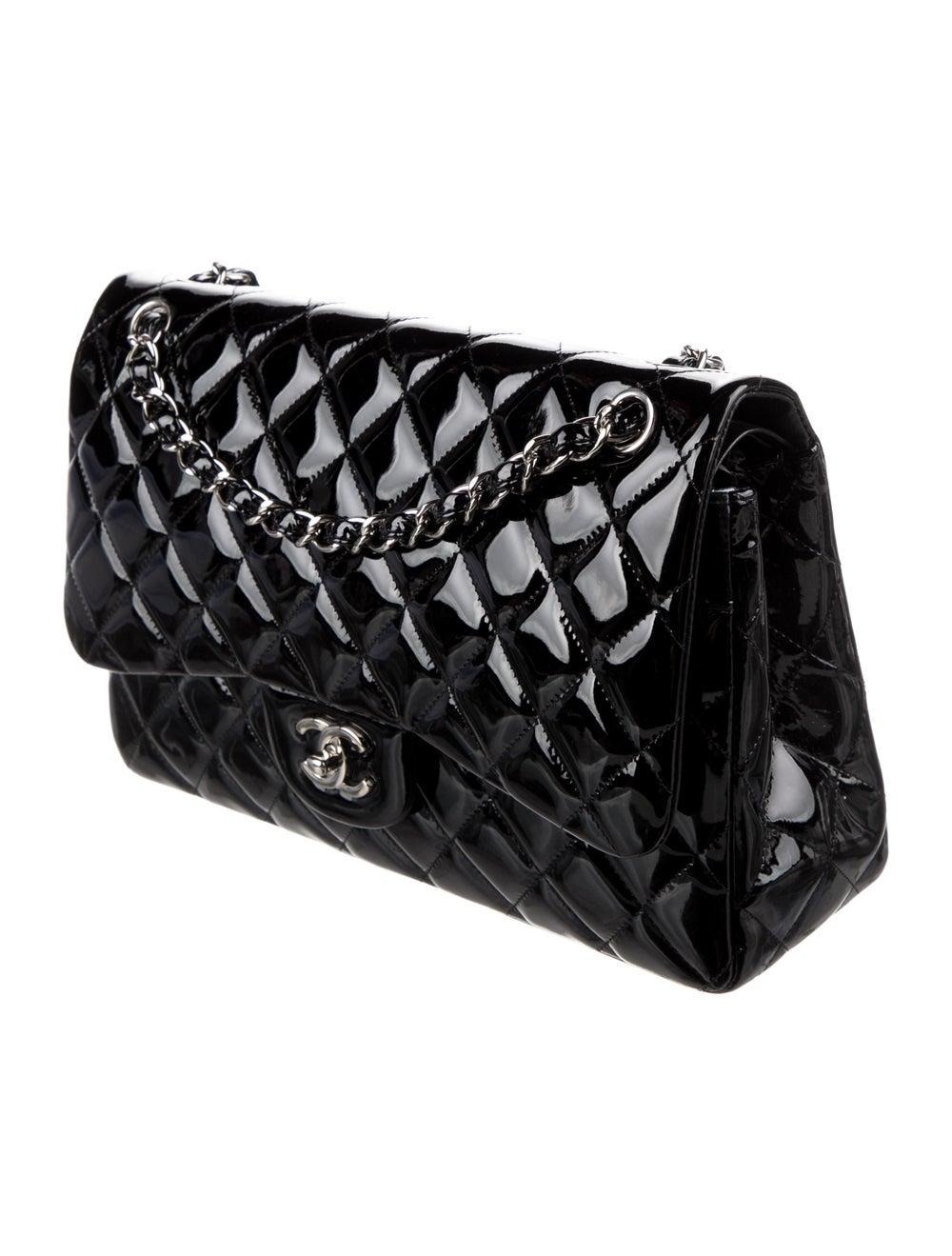 Chanel Classic Jumbo Double Flap Bag Black - image 3