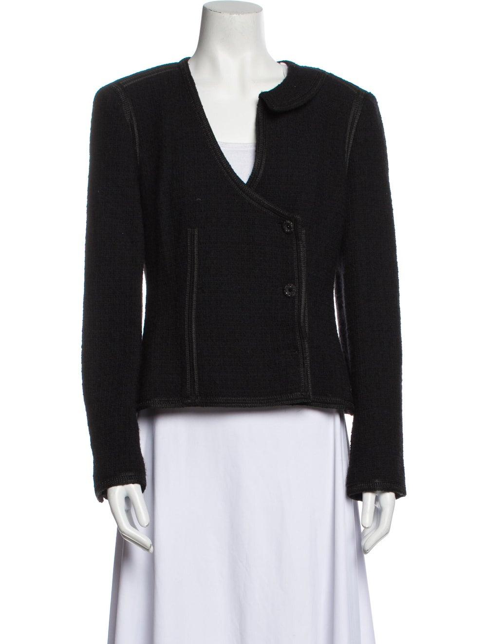 Chanel Vintage 2002 Evening Jacket Wool - image 1