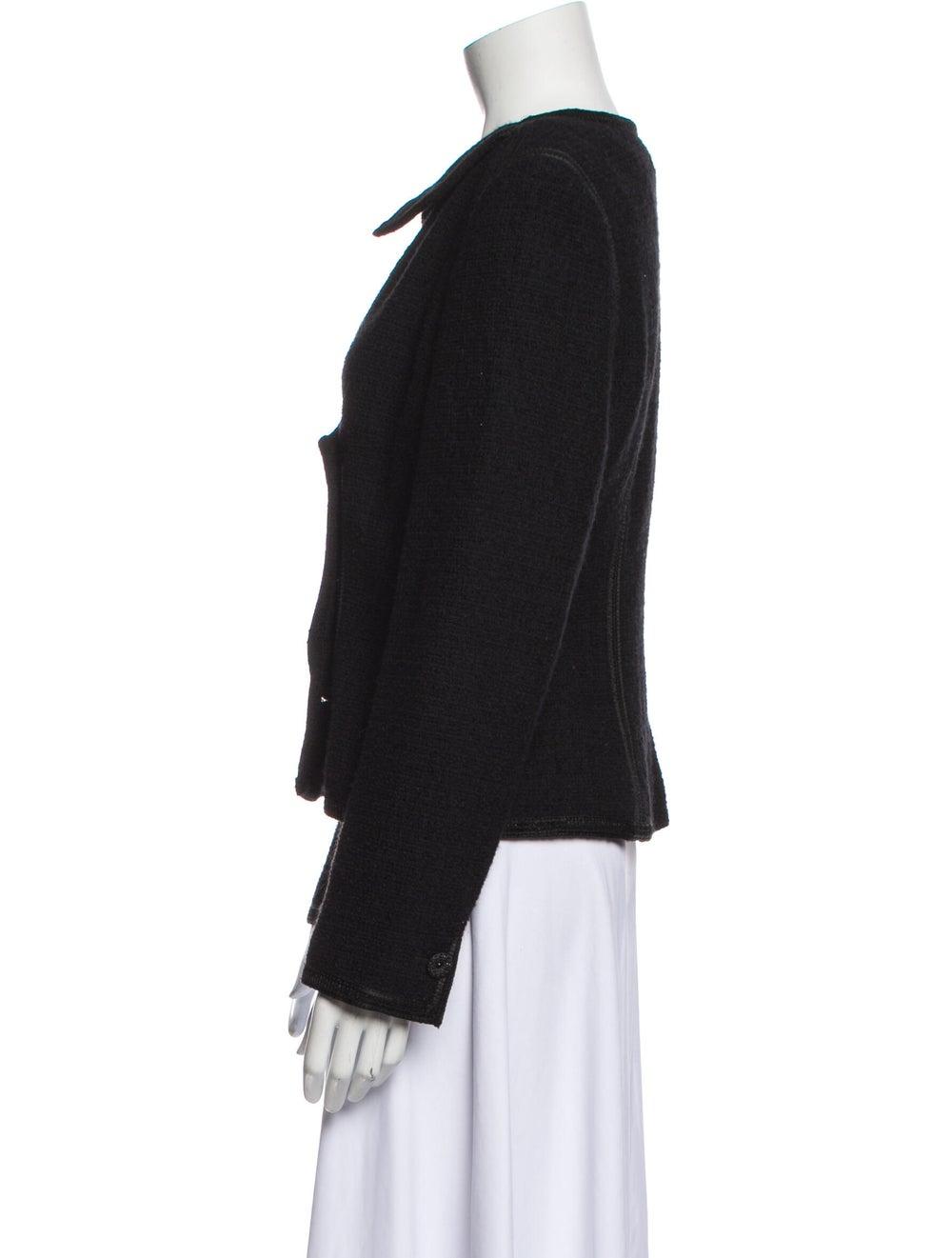 Chanel Vintage 2002 Evening Jacket Wool - image 2