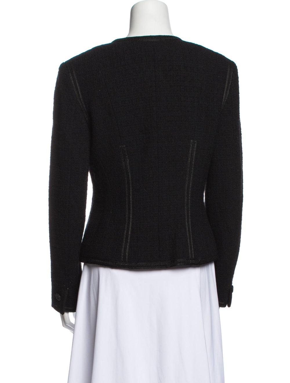 Chanel Vintage 2002 Evening Jacket Wool - image 3