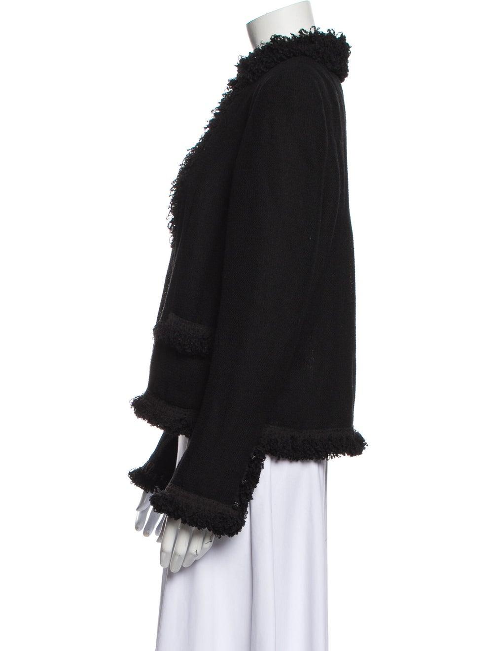 Chanel Vintage 2003 Evening Jacket Wool - image 2