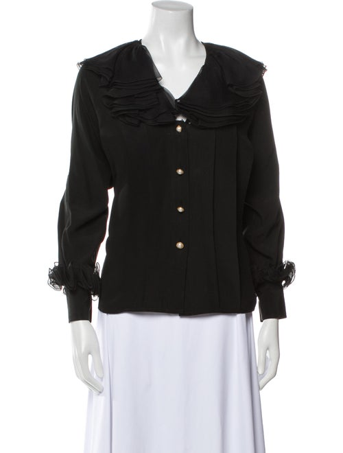 Chanel Vintage Late 1980's - Early 1990's Blouse B