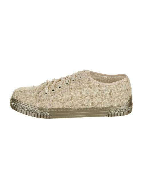 Chanel Tweed Sneakers Sneakers - image 1