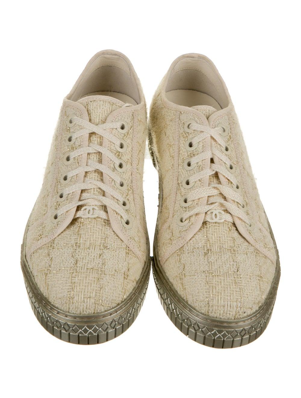Chanel Tweed Sneakers Sneakers - image 2