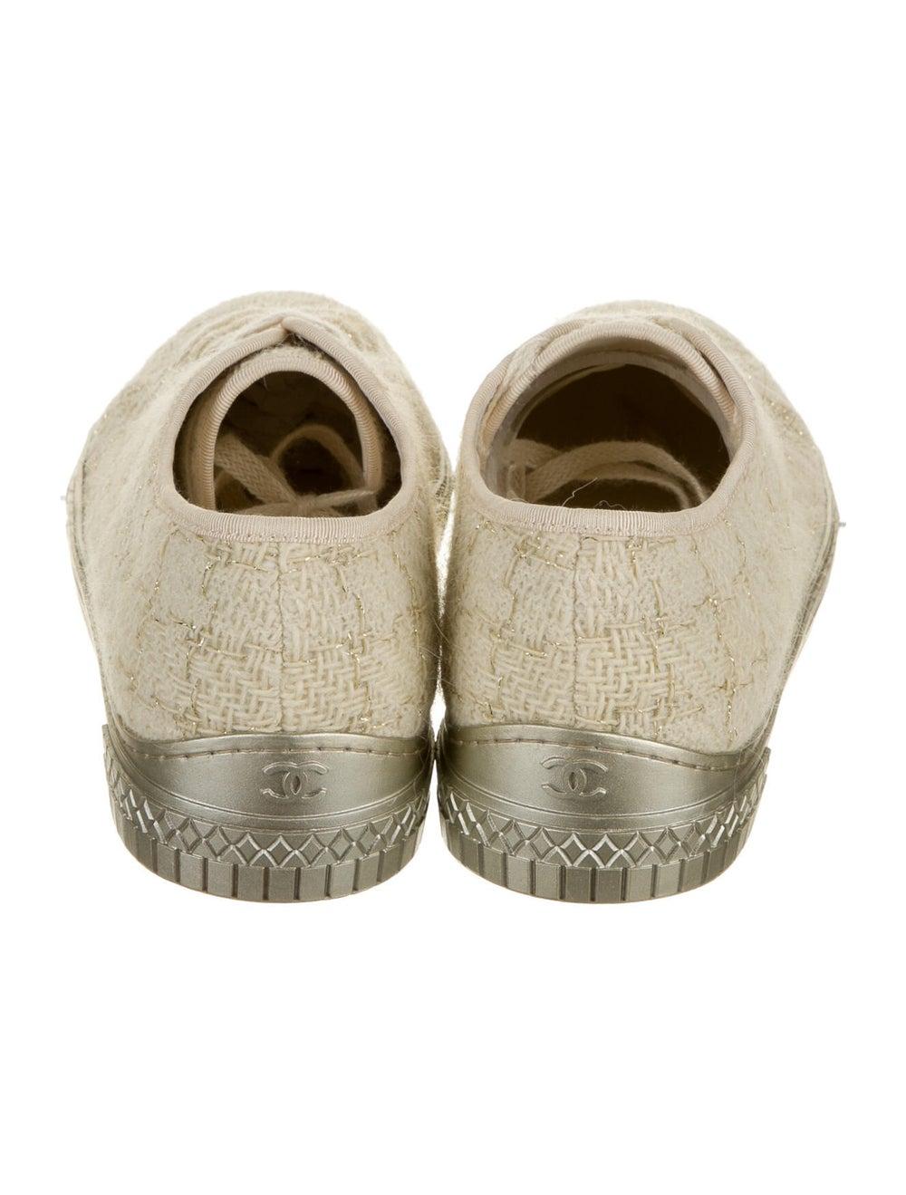Chanel Tweed Sneakers Sneakers - image 3