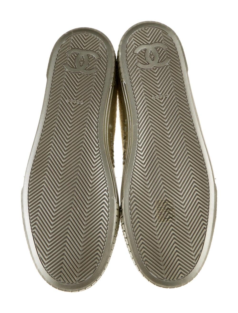 Chanel Tweed Sneakers Sneakers - image 4