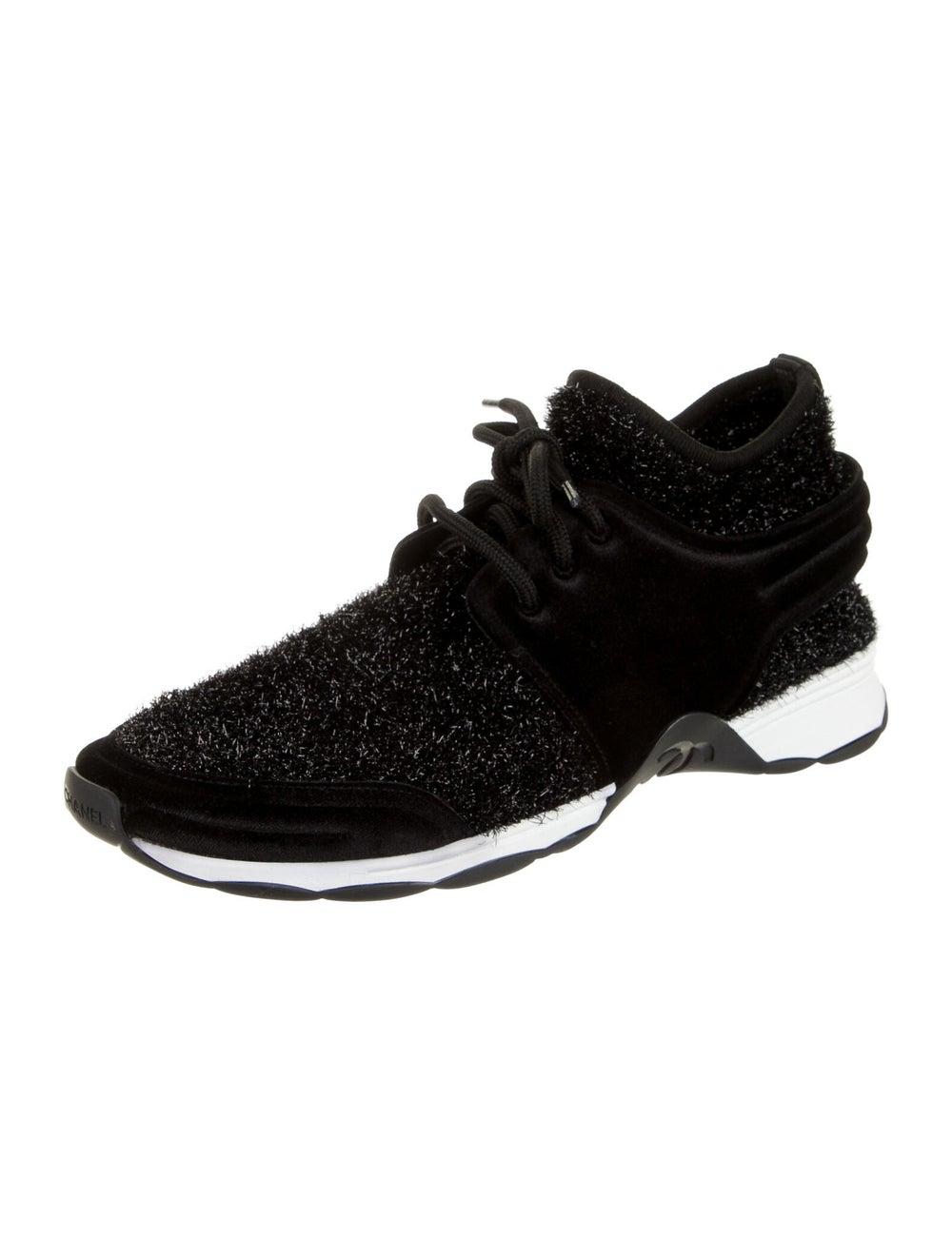 Chanel Tinsel Sock Sneakers Sneakers Black - image 2