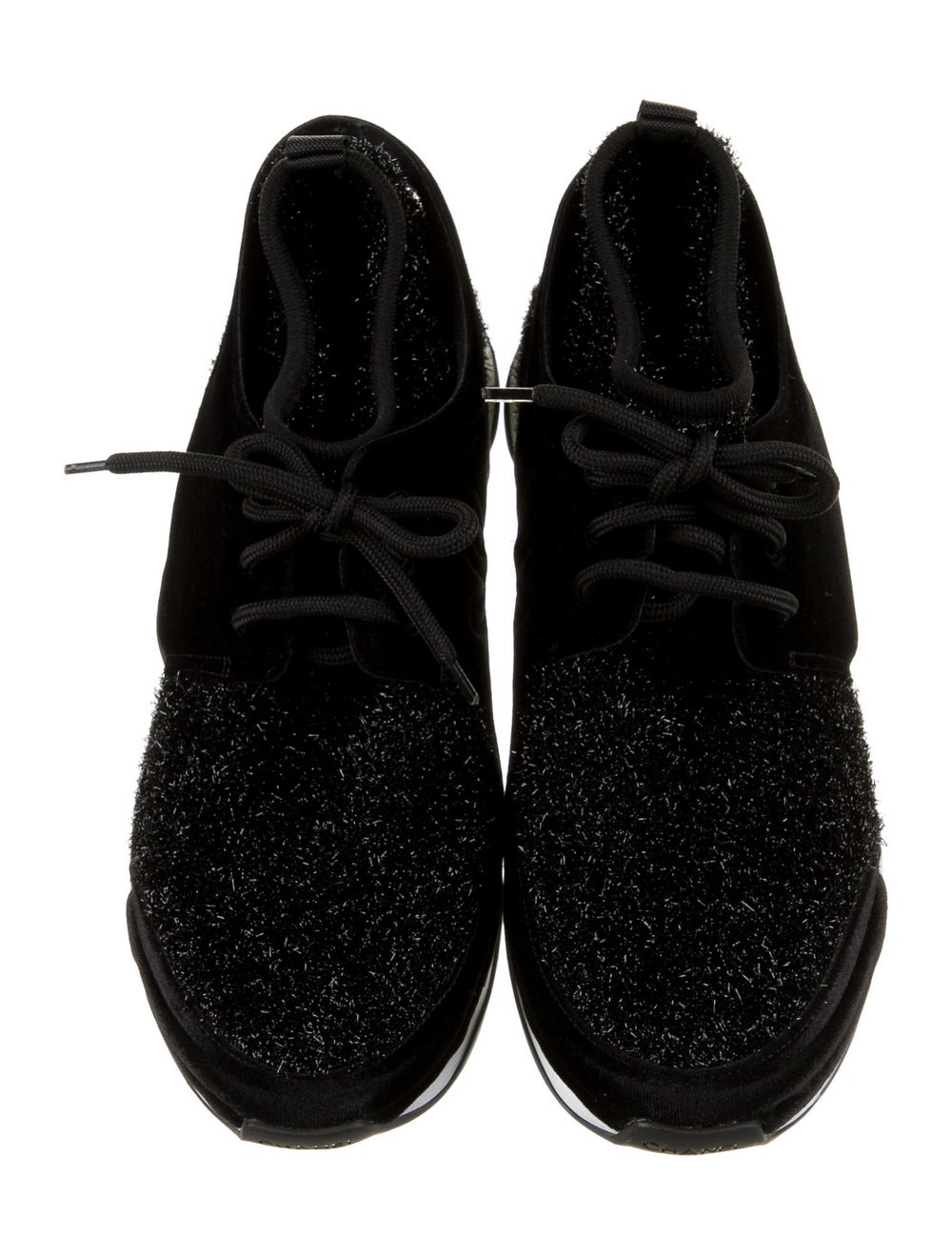Chanel Tinsel Sock Sneakers Sneakers Black - image 3