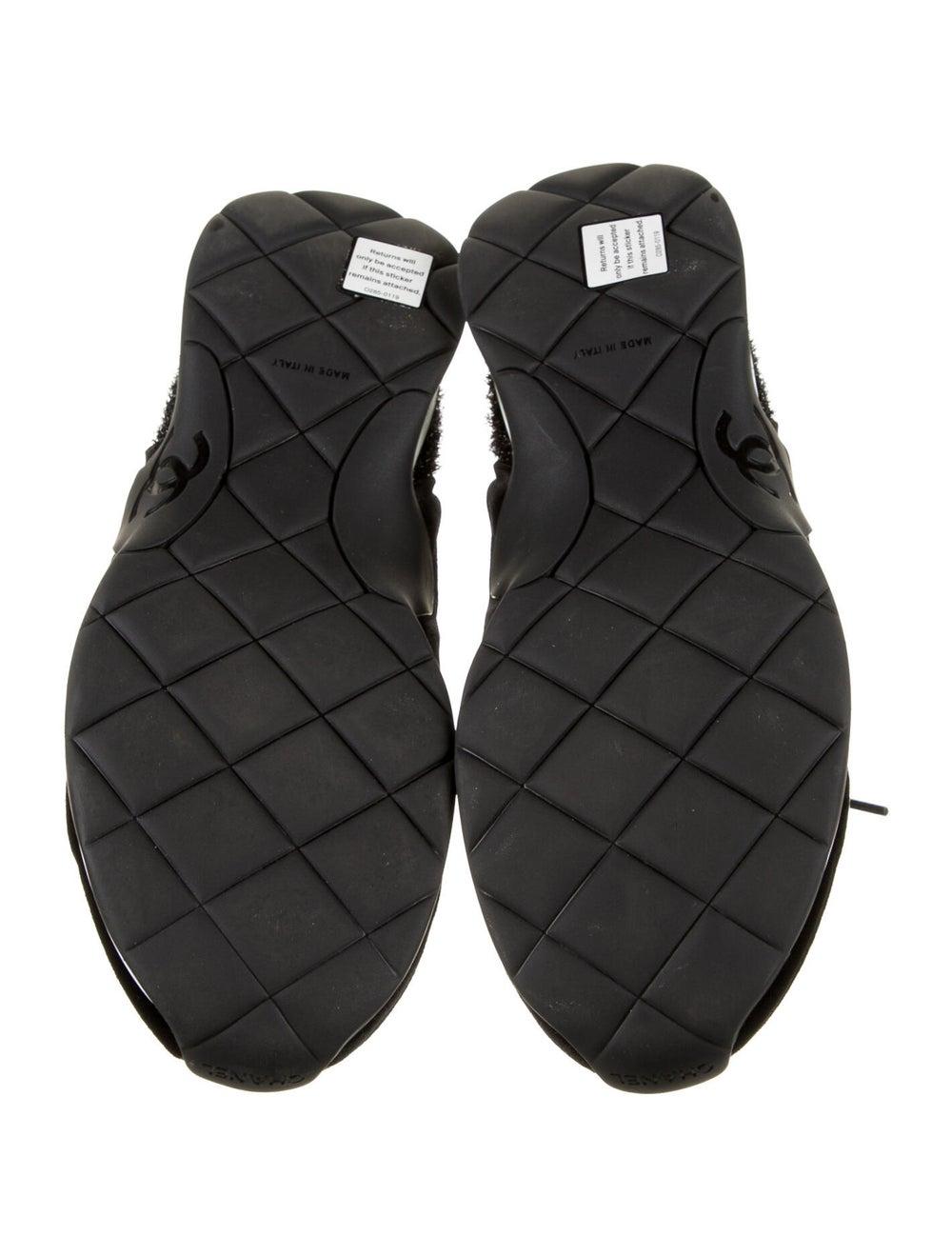 Chanel Tinsel Sock Sneakers Sneakers Black - image 5