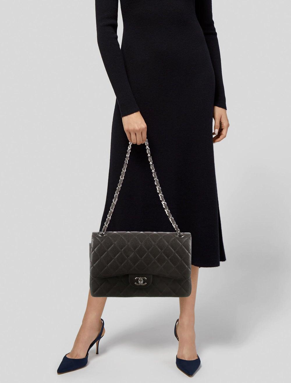 Chanel Classic Jumbo Double Flap Bag Brown - image 2