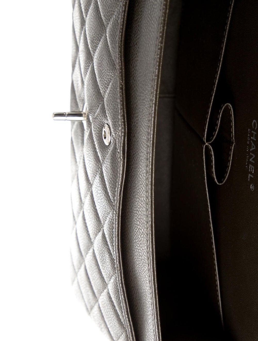 Chanel Classic Jumbo Double Flap Bag Brown - image 5
