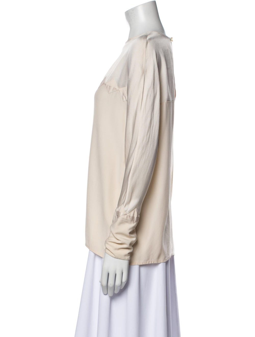 Chanel Vintage Late 1980's - Early 1990's Blouse - image 2