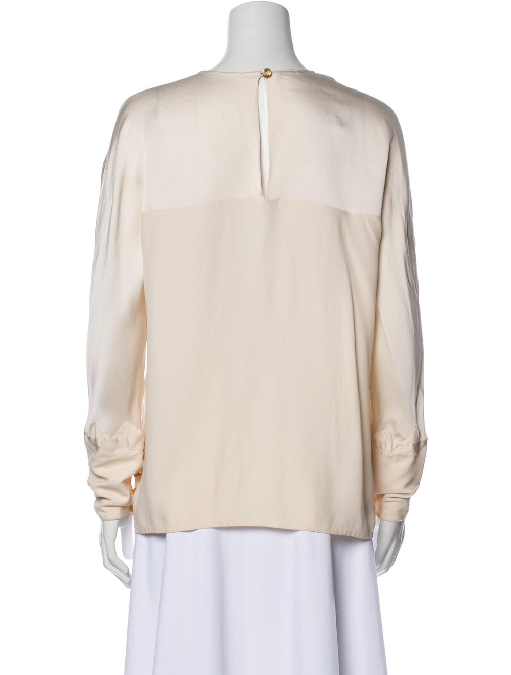 Chanel Vintage Late 1980's - Early 1990's Blouse - image 3